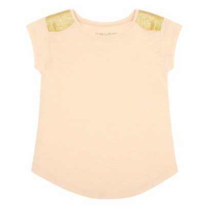 Louis Louise Anais Gold Shoulder T-Shirt-listing