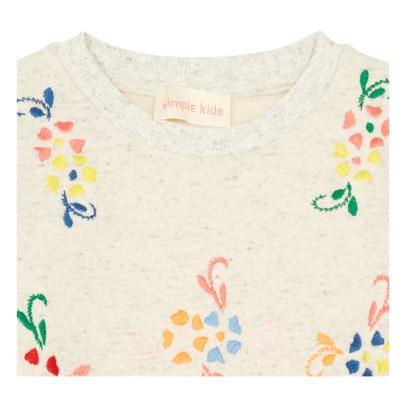 Simple Kids Sweatshirt Blumen Drop -listing