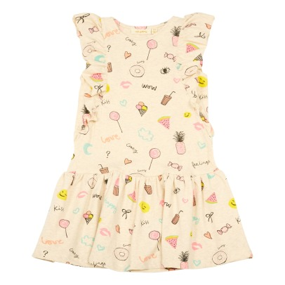 Soft Gallery Alberte Ruffled Emoji Dress-listing