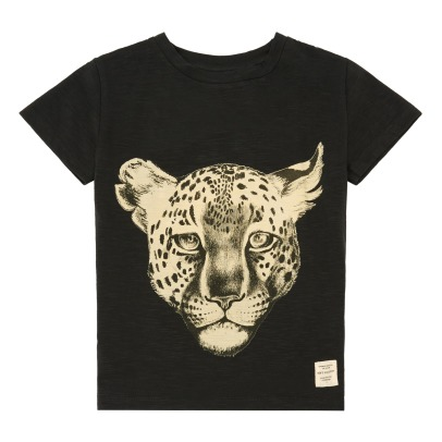 Soft Gallery Bass Organic Cotton Leopard T-Shirt-listing