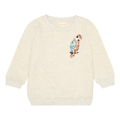 Simple Kids Sweat Perroquet Sequins-listing