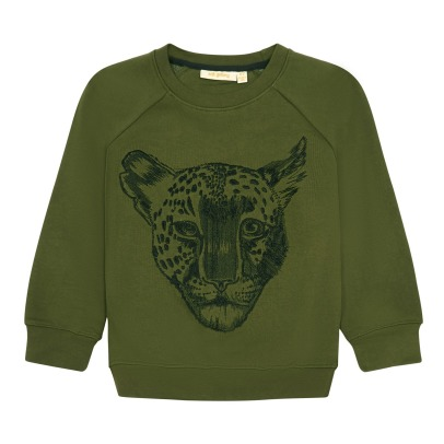 Soft Gallery Chaz Embroidered Leopard Sweatshirt-listing