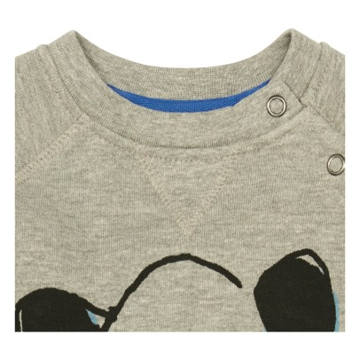 Soft Gallery Alexi Buttoned Panda Sweatshirt-product