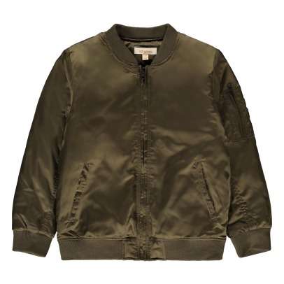 Soft Gallery Andy Embroidered Back Bomber Jacket-listing