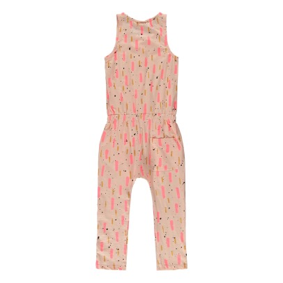 Soft Gallery Serpentine Organic Cotton Printed Jumpsuit-listing