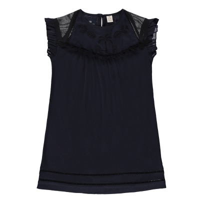 Scotch & Soda Ruffled Sleeve Jersey Dress-product
