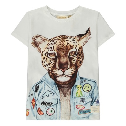 Soft Gallery Bass Cooleo Leopard T-Shirt-listing