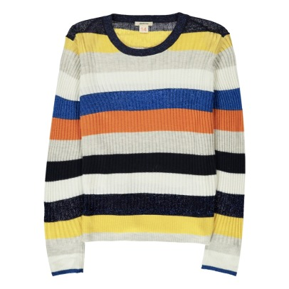 Bellerose Dolh Stripe Ribbed Jumper-listing