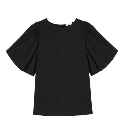 Masscob Ruffled Sleeve Blouse-listing