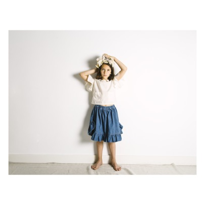 Yellowpelota Personnages Organic Cotton Skirt-listing