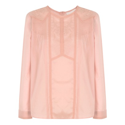 Vanessa Bruno Inzo Embroidered Blouse-listing