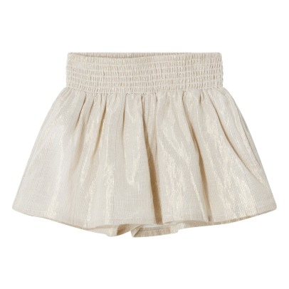 Finger in the nose Rika Metallic Stripe Shorts-listing