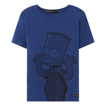 Finger in the nose Dalton Bart Funny T-Shirt-listing