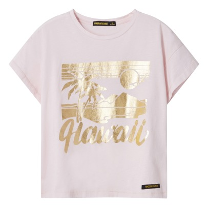 "Finger in the nose T-shirt Oversize ""Hawaii"" Drop-listing"