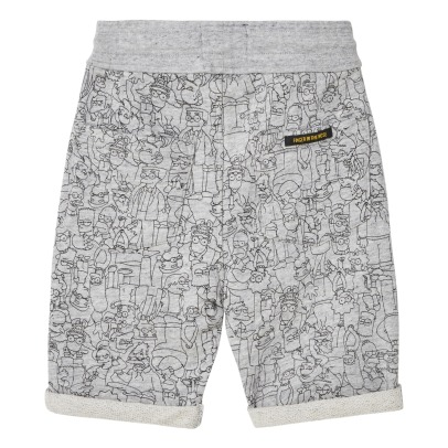 Finger in the nose Grounded Simpson Fleece Shorts-listing