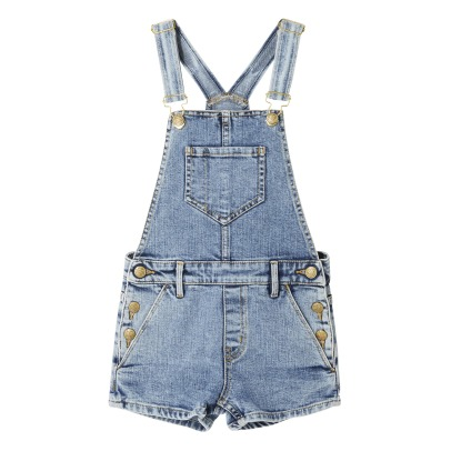 Finger in the nose Yumi Denim Dungaree Shorts-listing