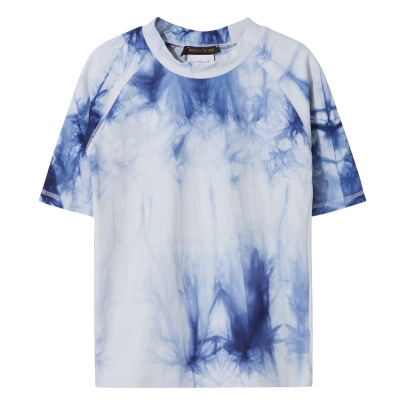 Finger in the nose T-shirt anti-UV Tie & Dye-listing