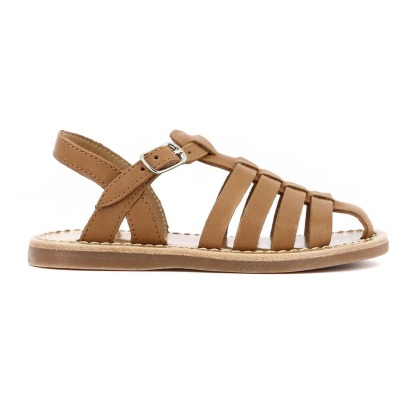 Sale - Glitter Tao Buckle Beach Sandals - Pom dApi Pom dApi