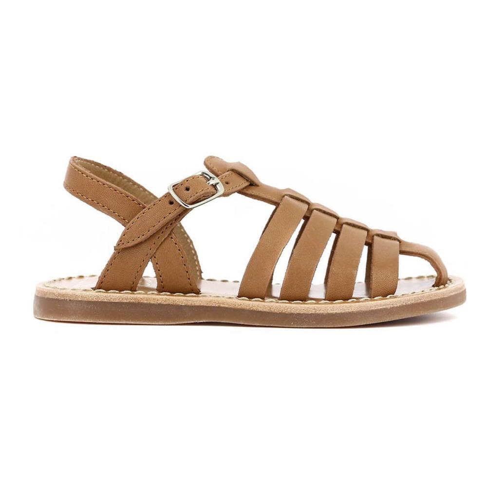 Sale - Stitch Papy Leather Beach Sandals - Pom dApi Pom dApi KAeSs