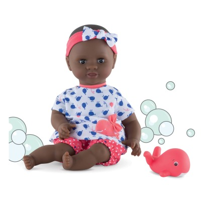 Corolle Mon Premier Bébé Bath - Cuddly Baby Girl With Her Toy Whale 30cm-listing