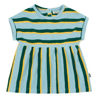 Imps & Elfs Organic Cotton Striped Dress-listing