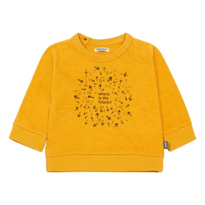 Imps & Elfs Where Is The Future Organic Cotton Sweatshirt-listing