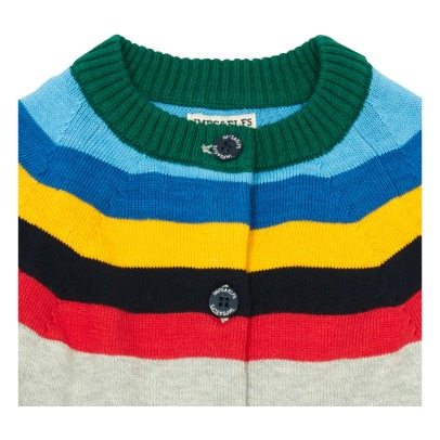Imps & Elfs Multicoloured Stripe Cardigan-listing