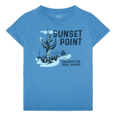 "Hartford ""Sunset Point"" Cactus T-Shirt-listing"