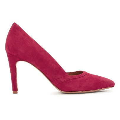 Rivecour Goat Velvet Court Shoes-listing