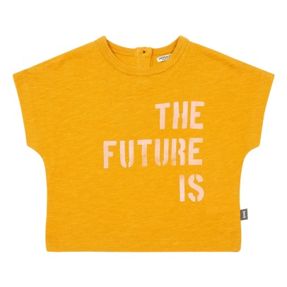 Imps & Elfs T-Shirt The Future Is Around The Corner Coton Bio-listing
