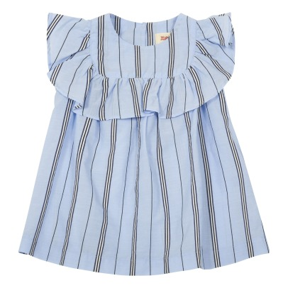 MAAN Casa Ruffled Stripe Dress-listing