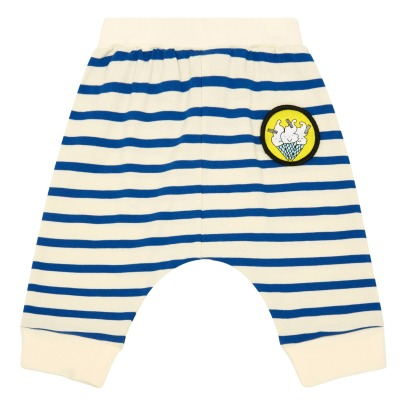 Stella McCartney Kids Gestreifte Hose aus Bio-Baumwolle Pudding -product