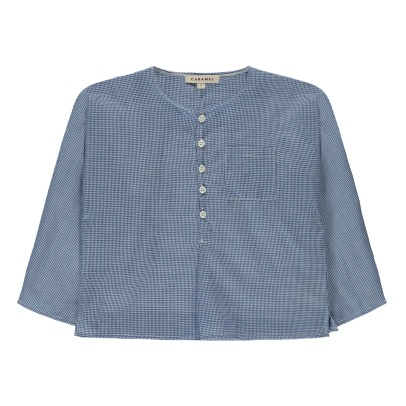 Caramel Baptiste Checked Shirt-listing