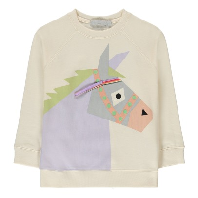 Stella McCartney Kids Sweat Coton Bio Âne Betty-listing