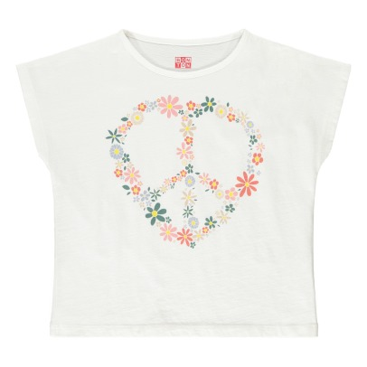 Bonton Floral Peace And Love T-Shirt-product