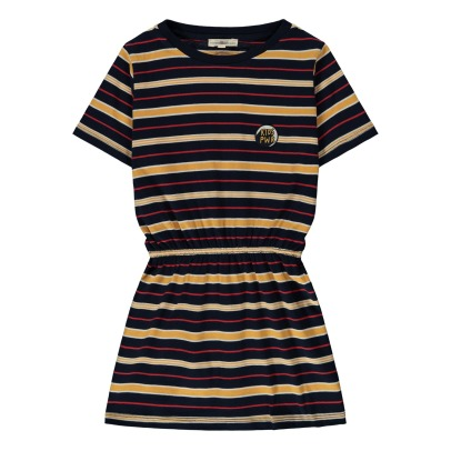 Hundred Pieces Kids Power Striped Dress-listing