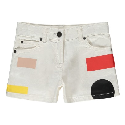 Stella McCartney Kids Short Jean Rayures Beau-listing