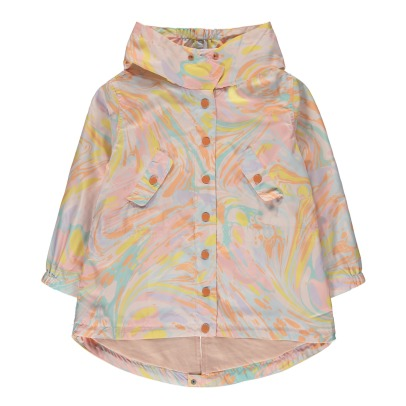 Stella McCartney Kids Impermeabile effetto marmo -listing
