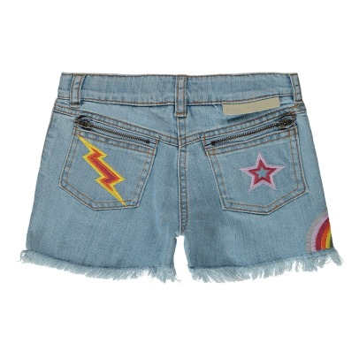 Stella McCartney Kids Shorts mit Stickerei Marlin -listing
