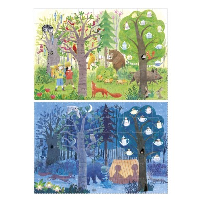 Londji Night and Day in the Woods Double-Sided Puzzle-listing