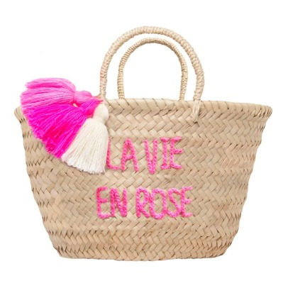 Rose in April Panier brodé enfant La vie en Rose-listing
