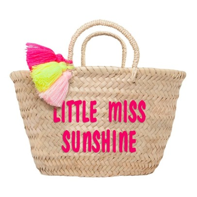 Rose in April Panier brodé enfant Little miss Sunshine-listing