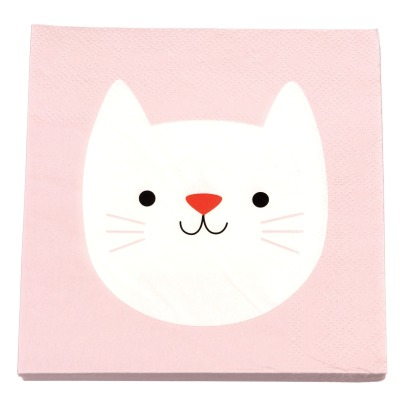 Rex Cookie The Cat Paper Napkins - Set of 20-listing