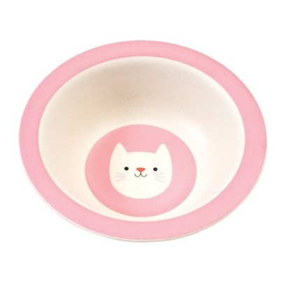 Rex Cookie The Cat Bamboo Bowl-listing