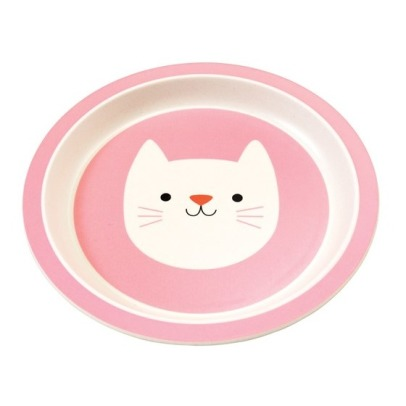 Rex Assiette en bambou Cookie le chat-listing