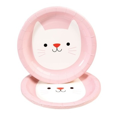 Rex Cookie The Cat Paper Plates - Set of 8-listing