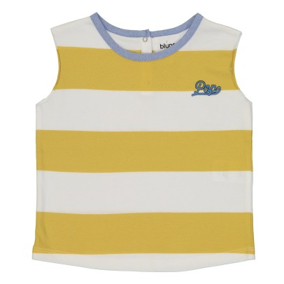 "Blune Kids ""Pop"" Striped Vest Top-listing"