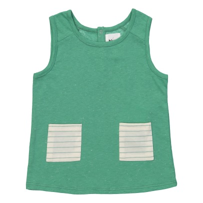 Blune Kids Pomme D'Amour Striped Vest Top-listing