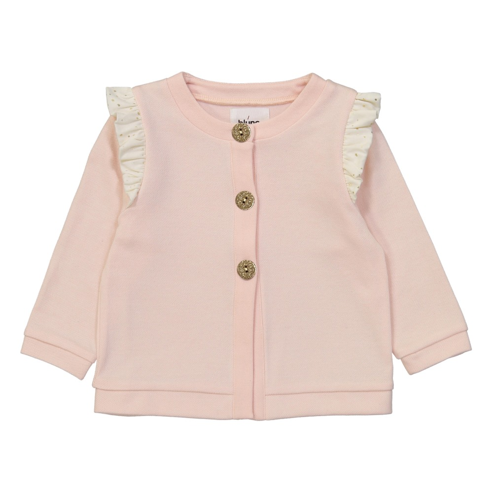 Cardigan Molleton Volants Pois Stardust-product