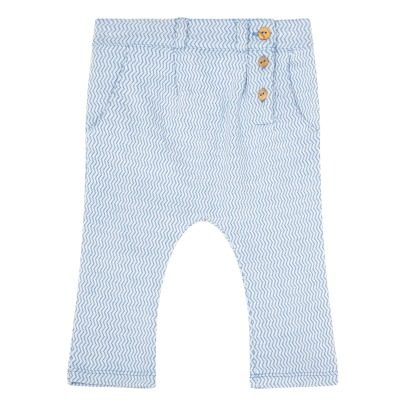 Blune Kids Splash Chevron Jersey Harem Trousers-listing
